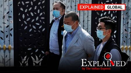 Jimmy Lai, who is Jimmy Lai Jimmy Lai arrested, Jimmy Lai China, Jimmy Lai arrest in Hong Kong, hong kong security law explained, indian express