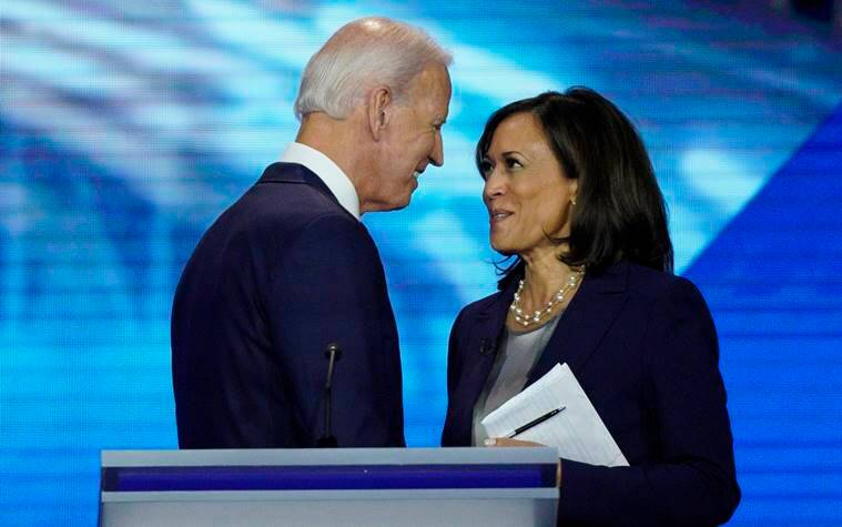Kamala Harris, Kamala Harris Joe Biden, Kamala Harris running mate, who is Kamala Harris, Kamala Harris profile, Kamala Harris news, US Election news, Indian Express