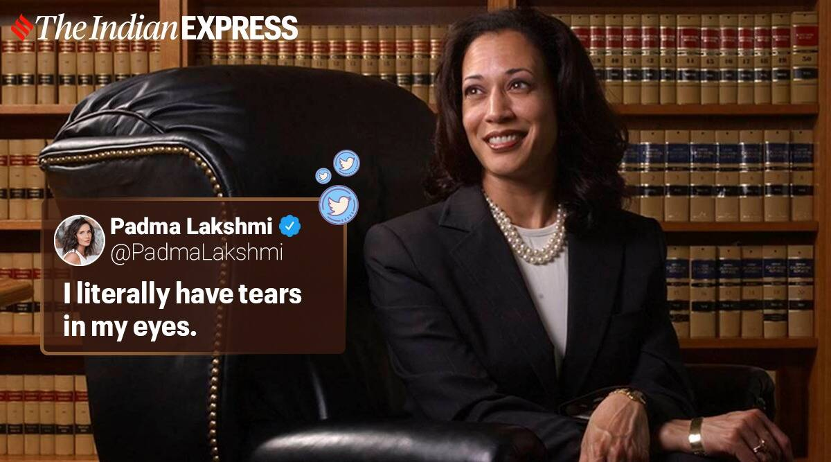 Kamala Harris Mentions Chithis In Her Speech Creates A Buzz On Social Media Trending News The Indian Express