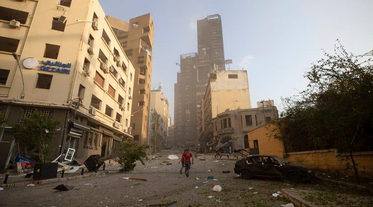 Beirut, Lebanon, Lebanon news, Lebanon blast, Beirut blast, Indian Express