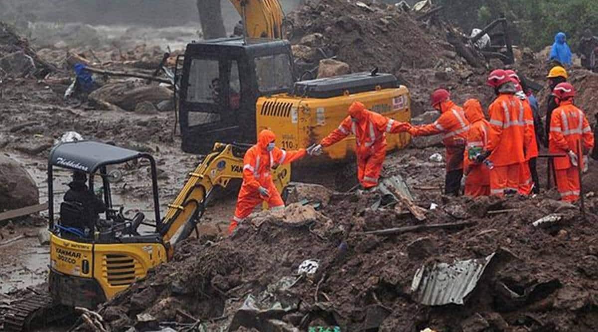 Cloudburst could have set off deadly landslide in Kerala, says official