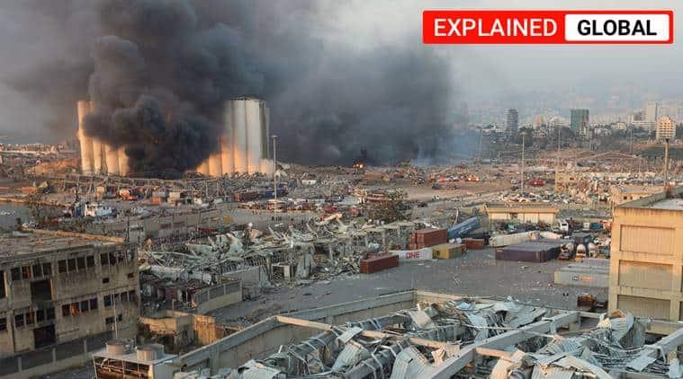 beirut explosion, lebanon beirut port explosion, beirut blast, beirut explosion explained,