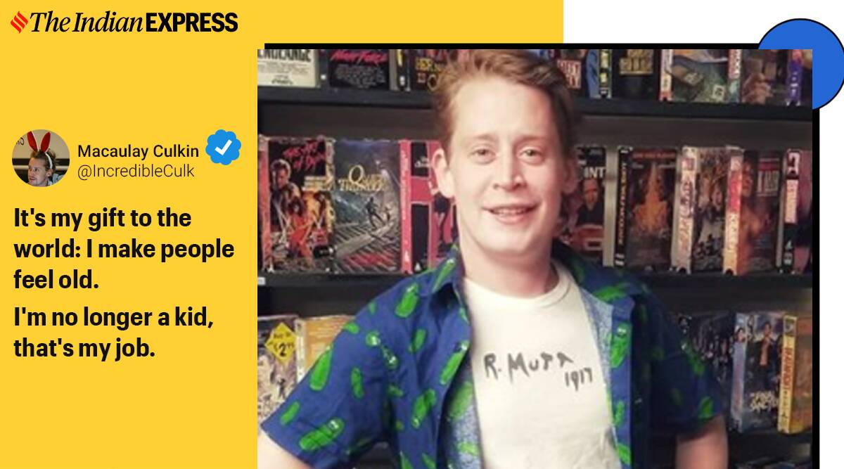 Macaulay Culkin, 40 years old, birthday, home alone actor Macaulay Culkin, Twitter, home alone actor birthday, home alone boy birthday, home alone movie, Trending news, Indian Express news