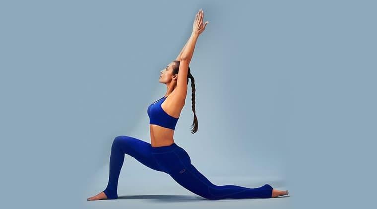 malaika arora, yoga