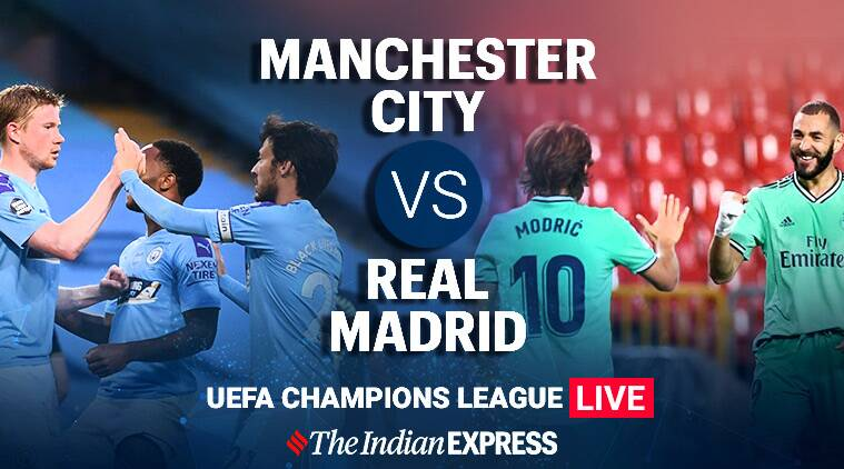 uefa champions league manchester city vs real madrid live score updates a battle for the quarters 24x7news live