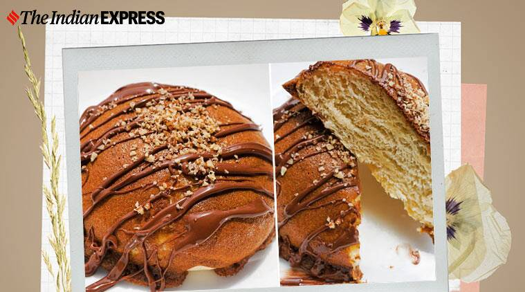papparoti, mexican buns, mexican coffee buns, raman okram, easy recipes, indianexpress.com, indianexpress, sweet buns at home,