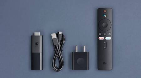 Xiaomi Mi TV Stick, Mi TV Stick launched in India, Amazon Fire TV Stick, Mi TV Stick price in India, Mi TV Stick specifications, Mi TV Stick specs, Mi TV Stick features, Convert non smart tv into smart tv, smart tv update, Xiaomi smart tv