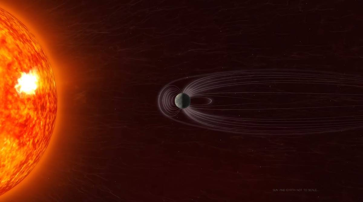 NASA tracks 'splitting dent' in Earth's magnetic field which can damage satellites thumbnail