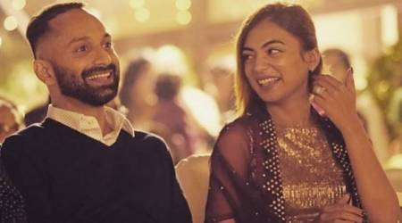 nazriya nazim wishes fahadh faasil on birthday
