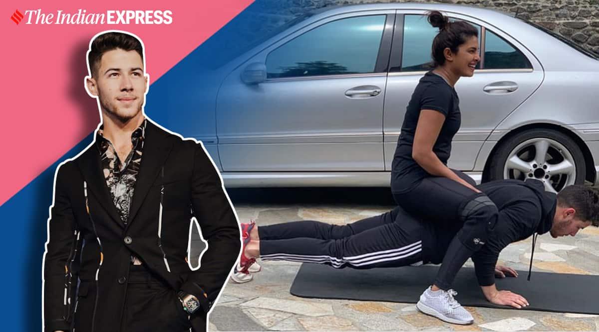 nick jonas, push ups, fitness goals, priyanka chopra jonas, indianexpress.com, indianexpress, push ups benefits, pushups,