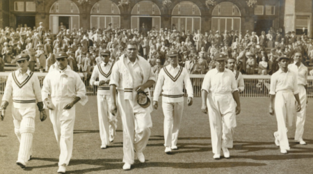 India's 1st Test team