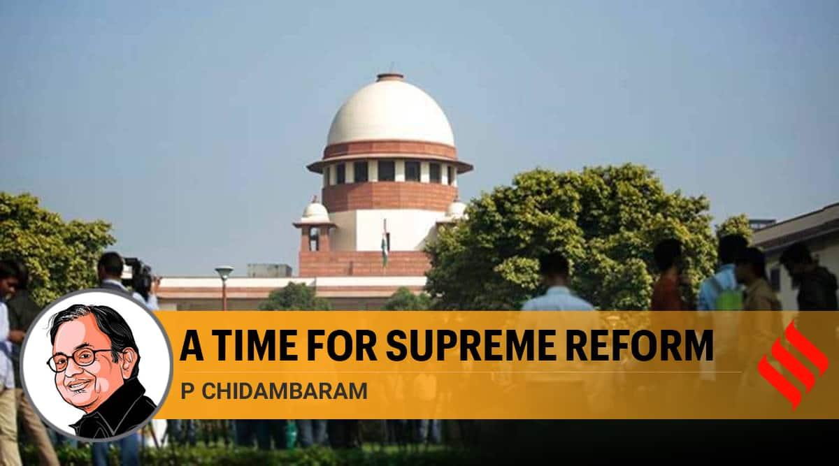 supreme court, supreme court reforms, legal reforms in india, prashant bhushan contempt of court case, supreme court judges, p chidambaram