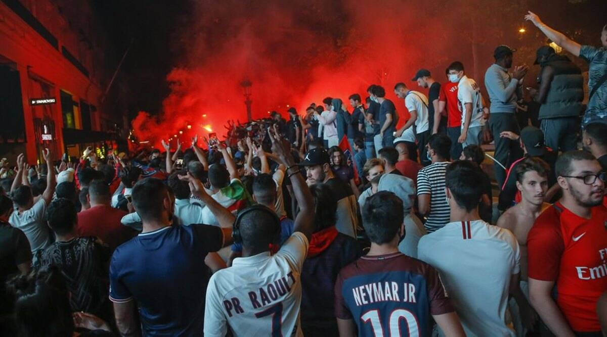 Champions League 36 Arrests As France Celebrate Historic Psg Victory Sports News The Indian Express