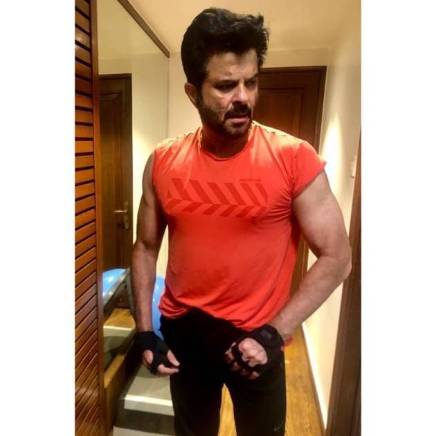 anil kapoor post workout