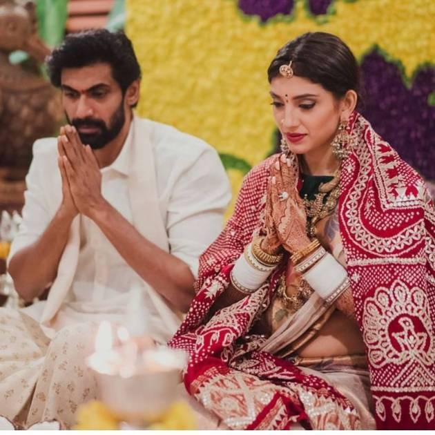 rana daggubati with miheeka bajaj photos