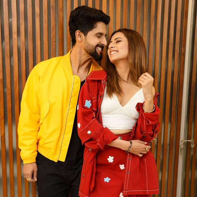 sargun mehta with ravi dubey
