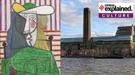 art vandalism, art vandalism examples, famous art paintings vandalised, picasso vandalised, indian express
