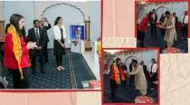Watch: New Zealand PM Jacinda Ardern visits temple in Auckland ahead of national elections