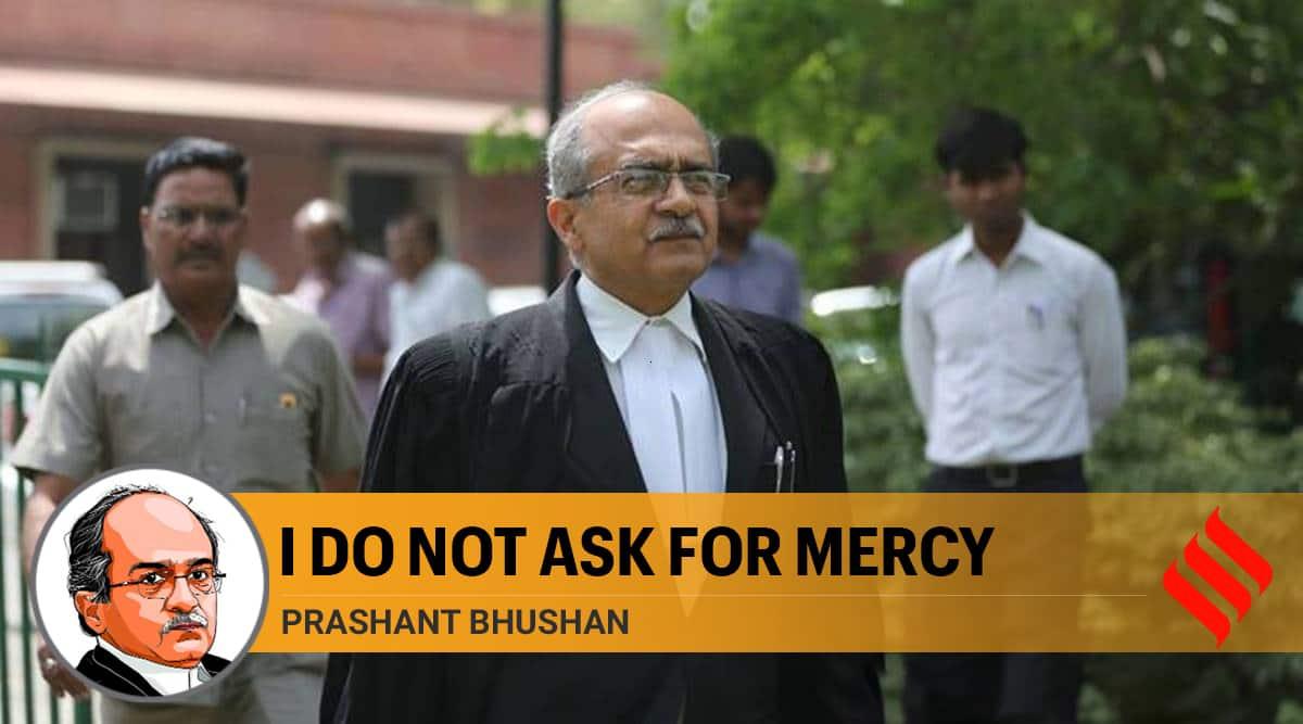 Prashant Bhushan contempt case, Prashant Bhushan writes, Prashant Bhushan case SC, Contempt of court, SC on Prashant Bhushan, Prashant Bhushan SC, Express opinion