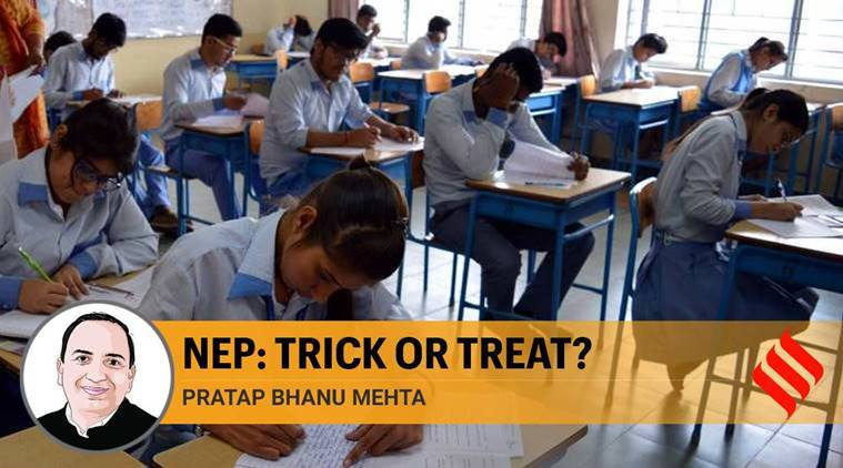 nep, new education policy, education policy, new education policy challenges, pratap bhanu mehta, education policy in india, indian express