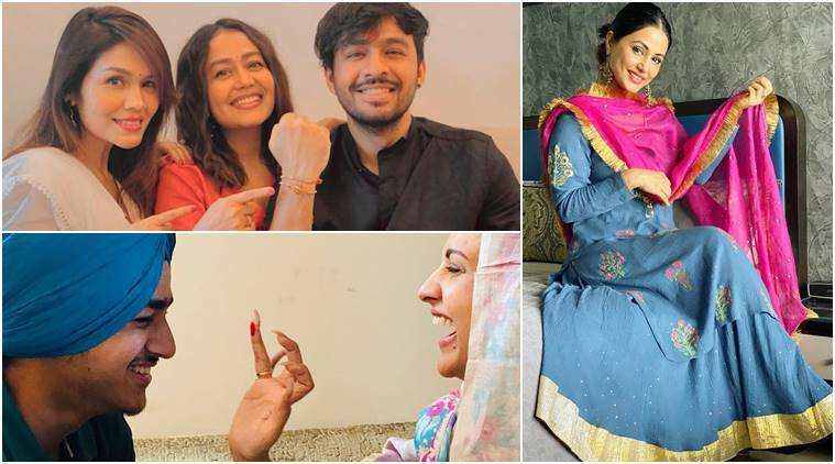 Himanshi Khurana, Hina Khan and others celebrate Raksha Bandhan, post photos and videos