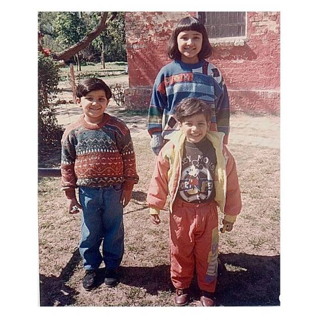 parineeti chopra with brothers