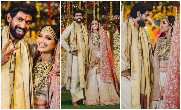 Rana Daggubati and Miheeka Bajaj's wedding photos