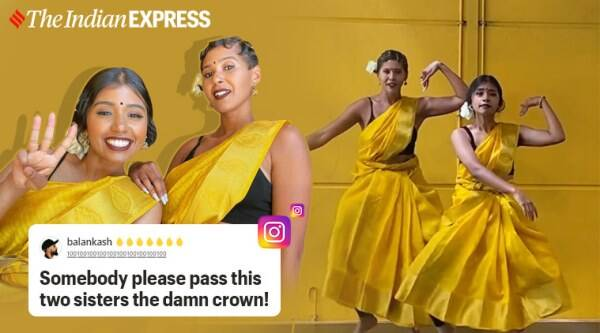 Paris, Hip-Hop Bharatnatyam, Hip-Hop Bharatnatyam fusion, Hip-Hop Bharatnatyam dance, Hybrid Bharatam, Viral video, Viral fusion dance video, Trending news, Indian Express news