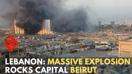 Lebanon: Massive explosion rocks capital Beirut