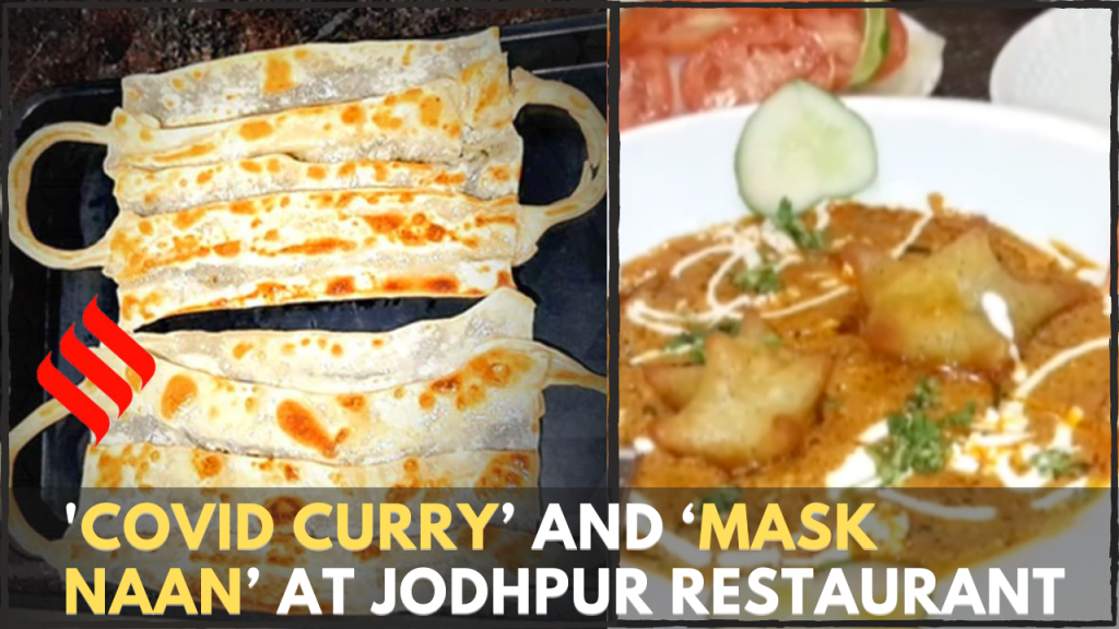 'COVID Curry' and 'Mask Naan' key attractions at Jodhpur restaurant