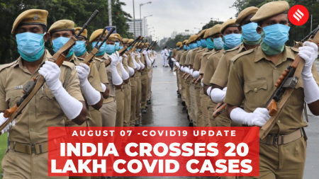 Coronavirus on August 7, India crosses 2 million Covid-19 cases
