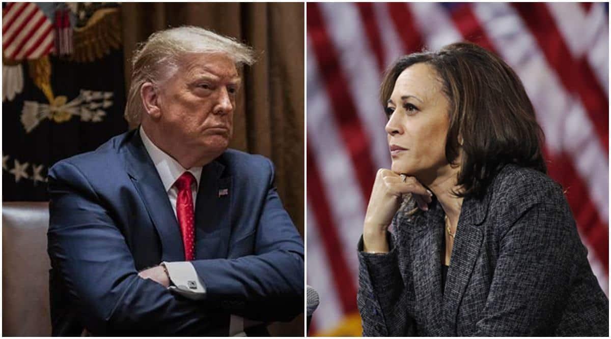 Trump on Kamla Harris, Trump calls harris communist, Joe Biden, Donald Trump, US elections 2020, world news