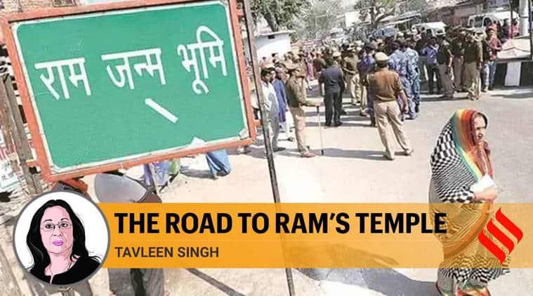 ram temple bhoomi pujan, ram mandir bhoomi pujan, ayodhya, ayodhya ram temple, ayodhya ram temple construction, ayodhya ram temple news, ram mandir nirman, rajiv gandhi, asaduddin owaisi, narendra modi, tavleen singh, indian express news