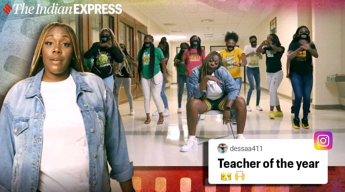 teachers Georgia rap online classes viral video, teachers rap, virtual learning, back-to-school rap video. trending, indian express, indian express news