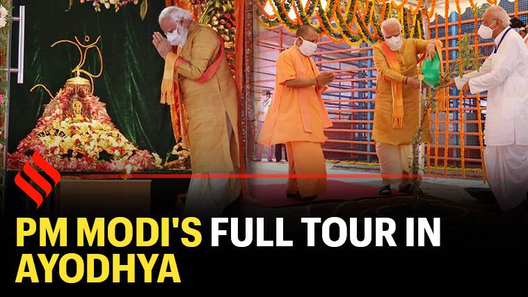 Watch: PM Modi's visit to Ayodhya for Ram Mandir Bhoomi Pujan