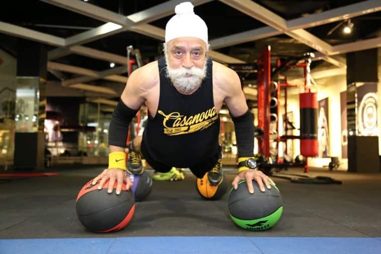 tripat singh, 75-year-old vegan diet, fitness goals, virat kohli, anushka sharma, tripat singh fitness, who is tripat singh, indianexpress.com, indianexpress,