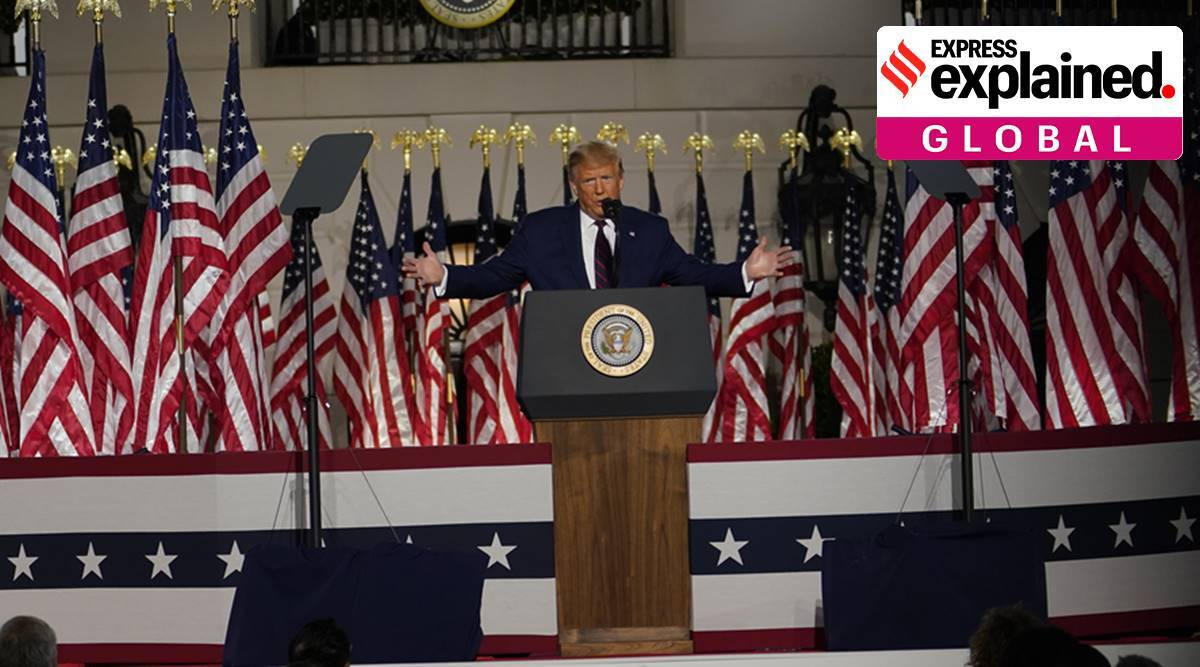 Hallelujah song at Republican convention, Leonard Cohen song, RNC US, RNC Hallelujah song, Donald trump, US elections 2020, world news, express explained