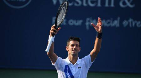Western and Southern Open, Novak Djokivic