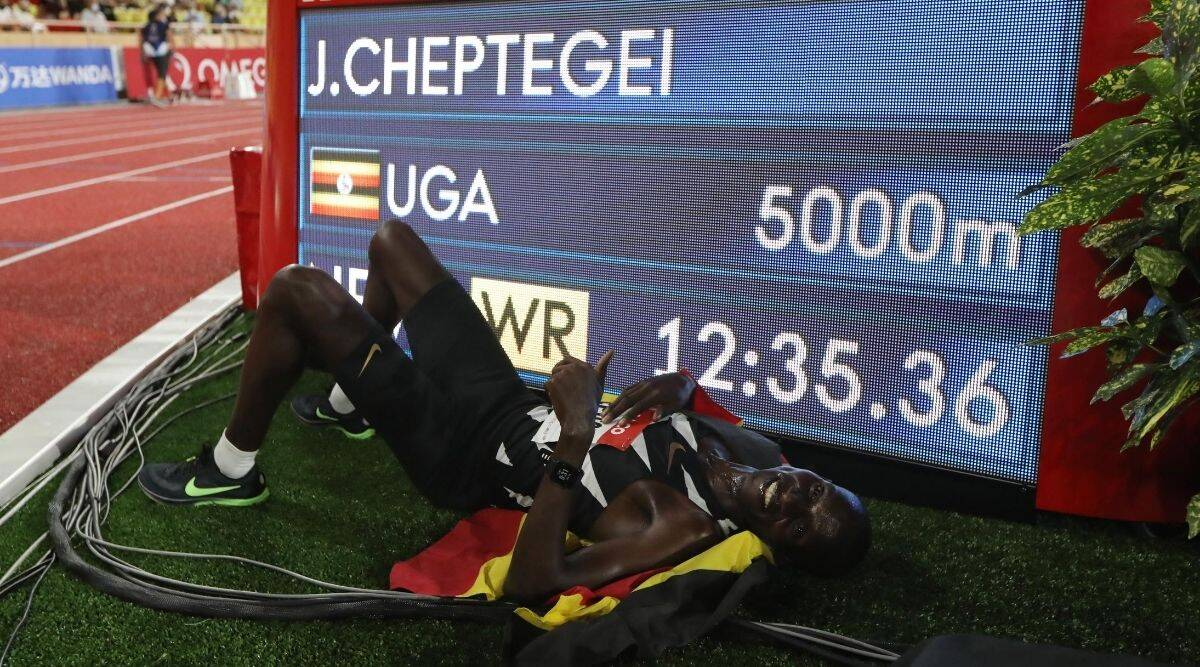 Diamond League, Diamond League 2020, Uganda's Joshua Cheptegei