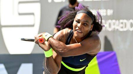 Serena Williams vs Shelby Rogers, WTA tennis tournament
