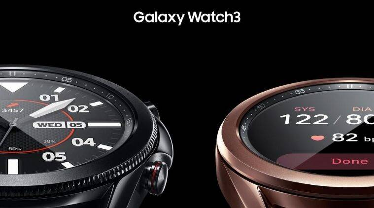 Samsung Galaxy Watch3, Galaxy Buds Live launched in India