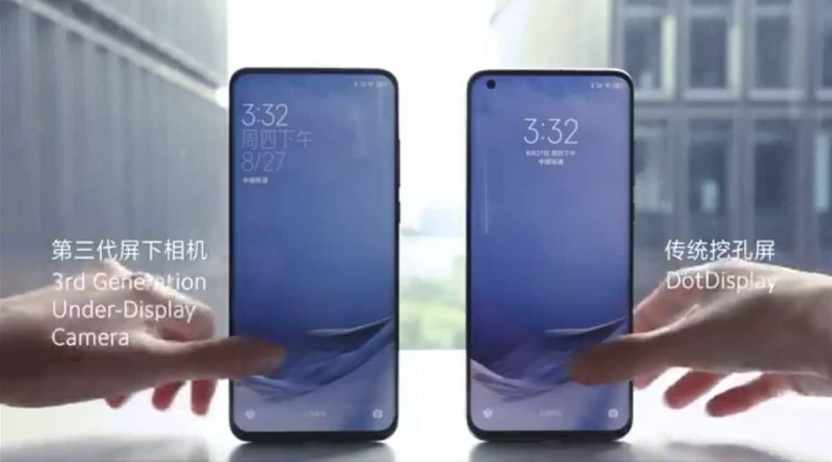 Xiaomi, Xiaomi under-screen camera, Xiaomi Mi 11, Xiaomi Mi 20, Xiaomi full screen display, Xiaomi third-gen under-display camera tech