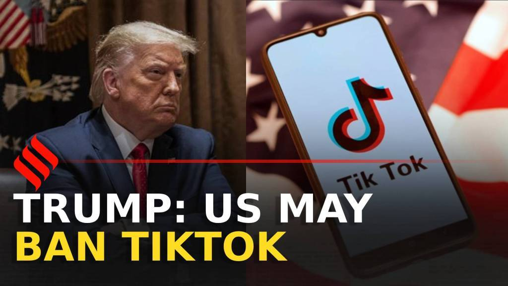 'US may ban TikTok,' says Donald Trump
