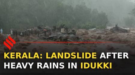 Landslide in Idukki, Kerala: At least 15 dead, 40 missing | Kerala Rains
