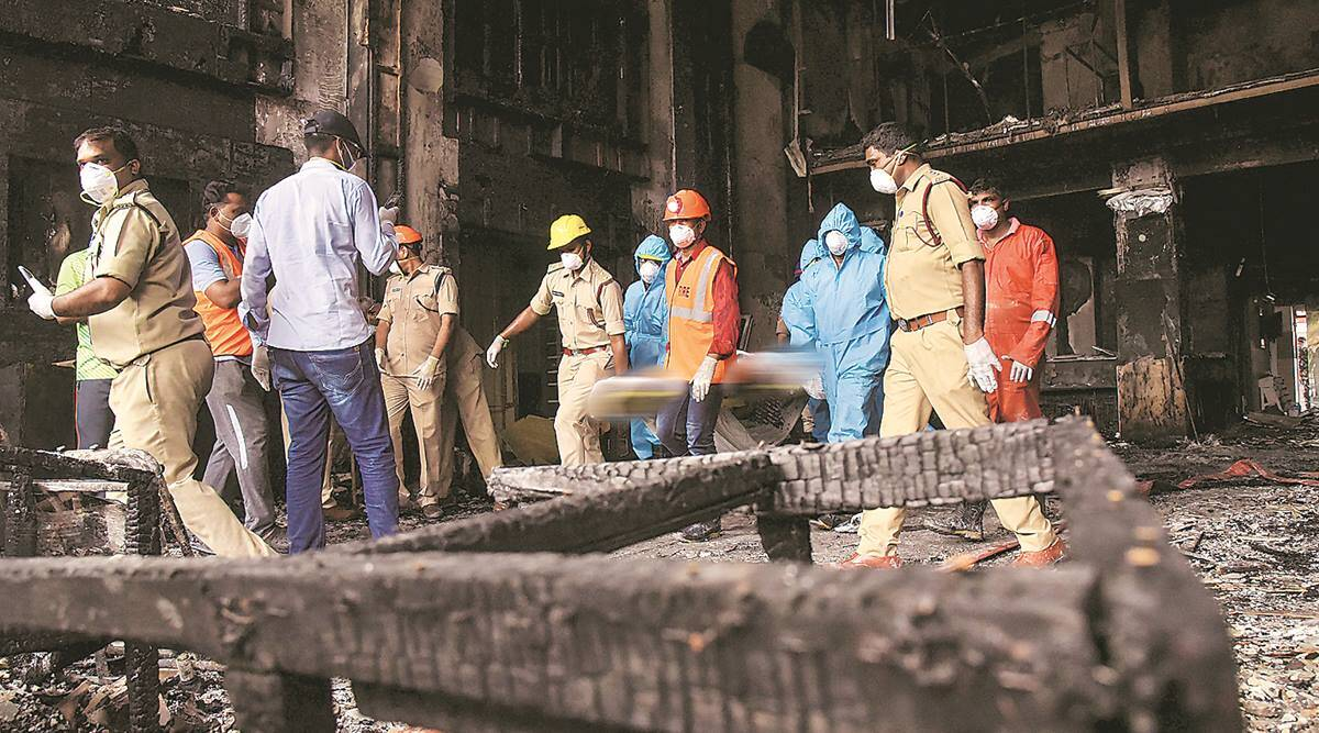 At heart of Andhra fire, a booming business in Covid care hotels