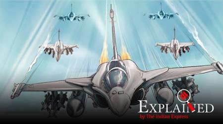 rafale, rafale india, rafale in india, dassault rafale, dassault rafale india, rafale top speed, rafale specifications, rafale vs china j20, rafale vs pakistan f16, indian express