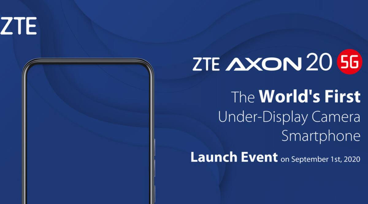 zte, Axon 20 5G , under screen selfie camera, under screen cameras, in-display camera