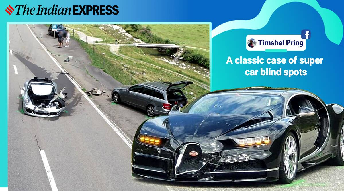 The Rs 30 Crore Crash Mercedes Porsche Bugatti Involved In Switzerland Accident Trending News The Indian Express