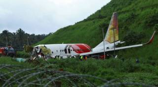 Air India Express flight from Dubai crashlands in Kozhikode | See pictures