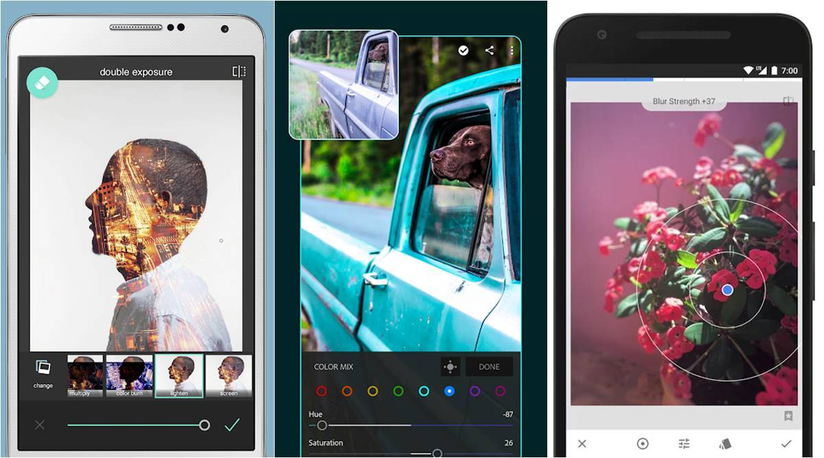 5 best free photo editing apps for Android users | Technology News,The  Indian Express
